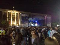 Giovani durante una serata-evento dedicata alla Ue a Chisinau (Kevglobal /Flickr)