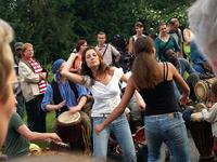 Il Carnevale delle culture, evento annuale nel quartiere berlinese di Kreutzberg
