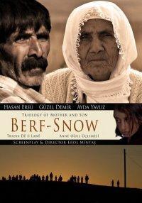 """La locandina del film """"Berf/La Neve"""" corto del regista curdo Erol Mintas (10'), vincitore a ottobre 2010 del festival turco di Antalya, in calendario a Roma"""