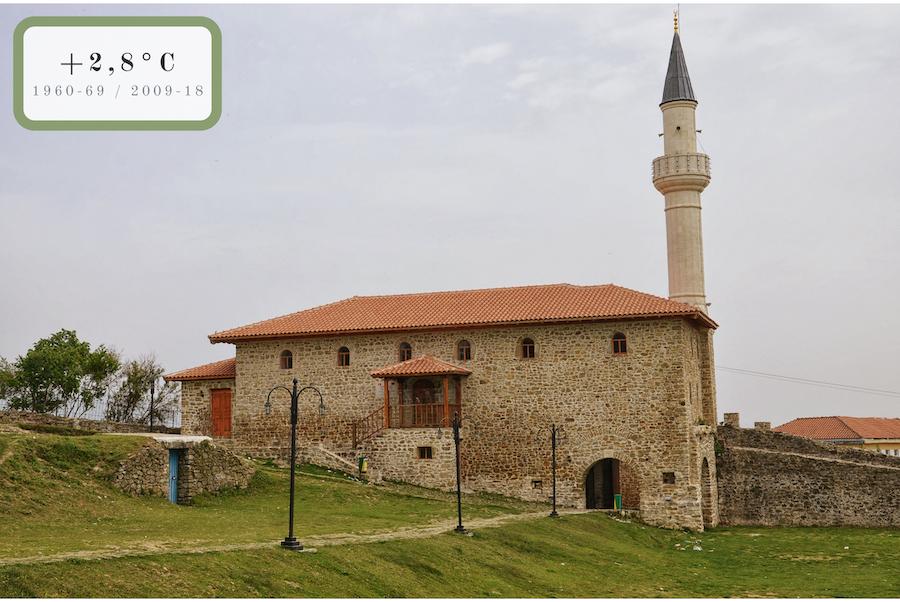 moschea e minareto