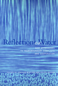 "La copertina di ""Reflections on Water"" di Ingram e Blatter (Mit Press)"