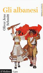"""Copertina del libro """"Gli albanesi"""""""
