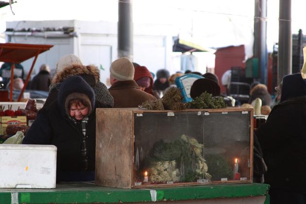 Al mercato di Chișinău - Danilo Elia