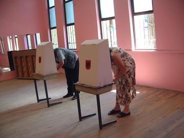 Al voto in Albania - Odhir