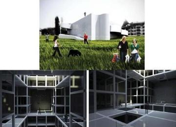 Alcune immagini del progetto Museo dell'assedio - da depo.ba