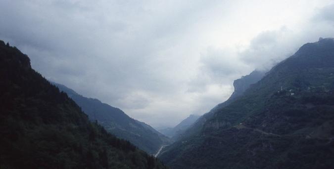 Alpi Pontiche nei pressi di Trebisonda-di Fabrizio Polacco