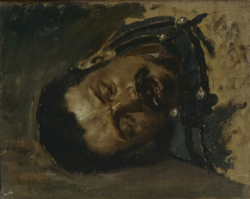 Arcangelo Salavarani, Soldato morente, 1917