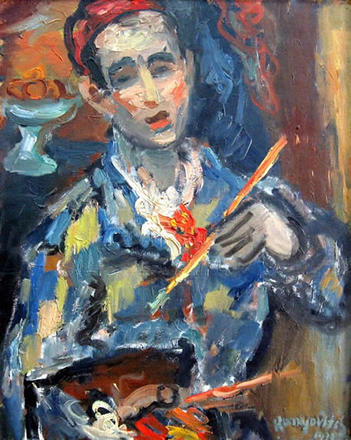 Autoritratto (Sombor, 1933)