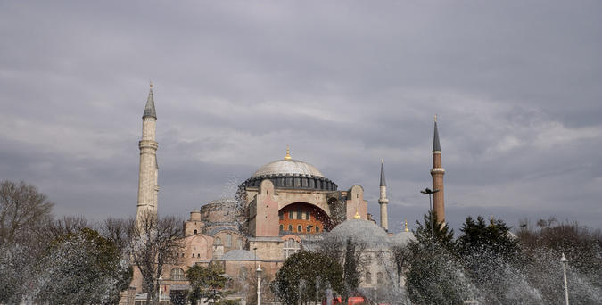 Basilica di Santa Sofia, Istanbul- di MnGyver