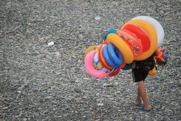 Batumi, sulla spiaggia (Foto kvitlauk, Flickr)