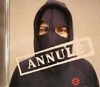 """La copertina di """"Annulé"""", album del 2005"""
