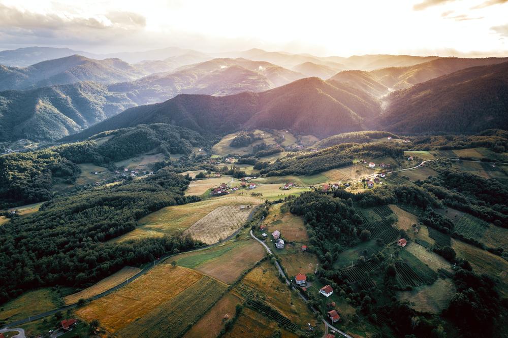 Bosnia rurale/Shutterstock