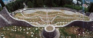 Il cimitero partigiano a Mostar