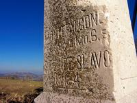 Cippo chilometrico - di Francesco Martino
