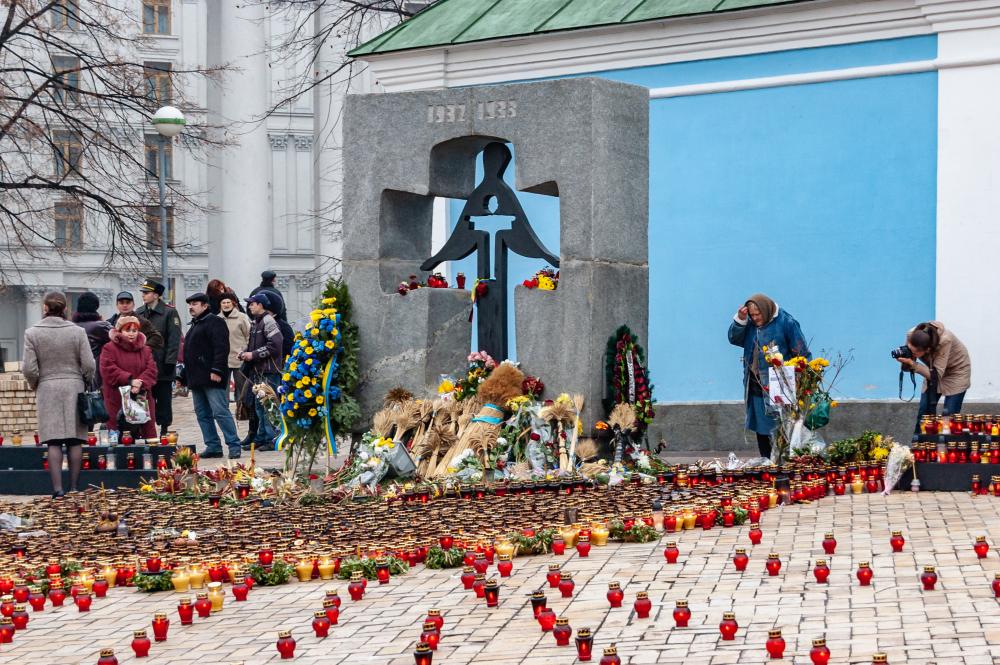 Commemorazione delle vittime dell'Holodomor a Kiev nel 2007 - © Serhii Simonov/Shutterstock