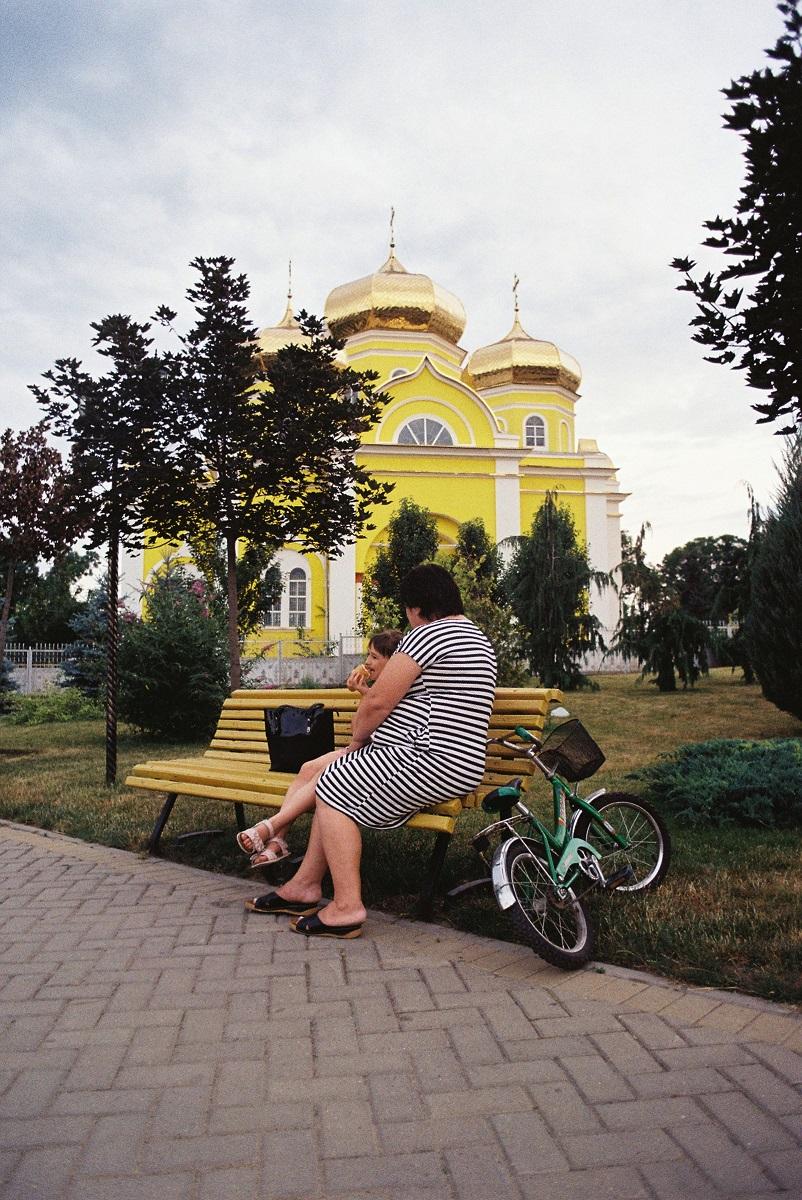 La chiesa principale di Comrat (foto F. Brusa)