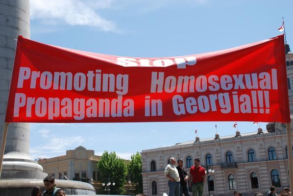 Corteo anti LGBT, 17 maggio 2013 (foto M. Ellena)
