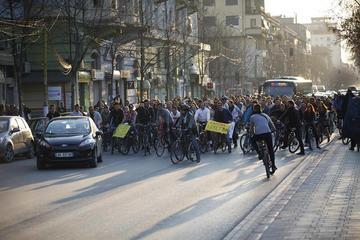 Critical Mass Tirana, percorso