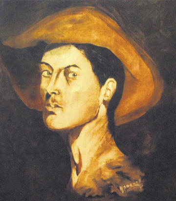 Autoritratto di Miloš Crnjanski