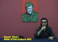 Damir Nikšić (dal canale You Tube MINISTAR - Occupy the Bosnian National Gallery)