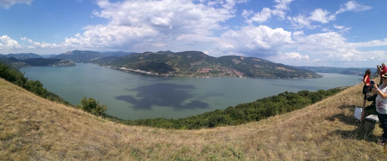 Vista sul Danubio alle porte di ferro (foto G. Vale)