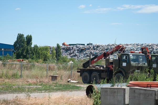 Discarica Novi Sad (foto Dragana Prica)