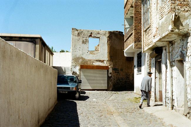Distruzione in centro a Diyarbakır - foto di Francesco Brusa