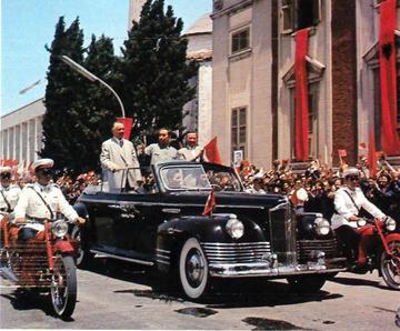 Visita a Tirana della dirigenza cinese nel gennaio 1964