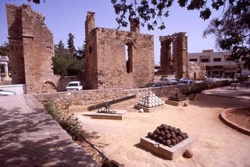 Famagosta presso l'antico governatorato veneziano