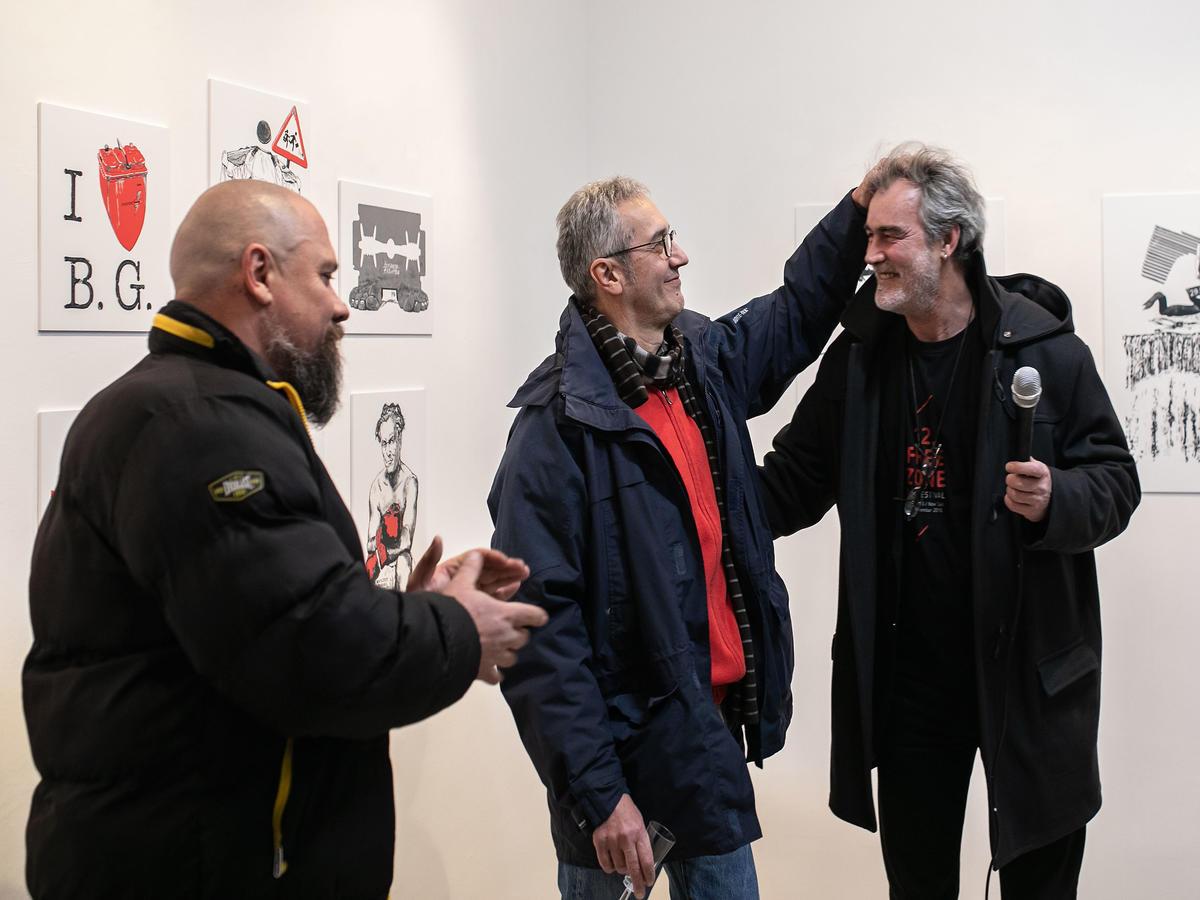 Boris Dežulović, Alem Ćurin, Viktor Ivančić (fotka © Manuel Angelini)