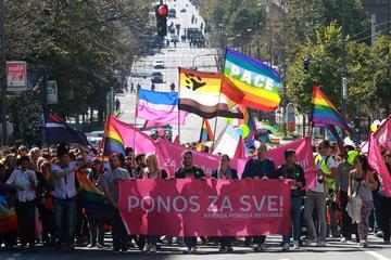 Gay Pride 2014 Belgrado (foto D. Janjić)
