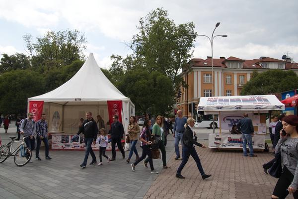 Gazebo a Banja Luka (foto G. Vale)