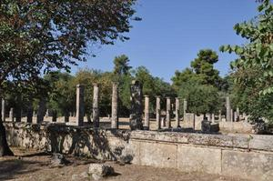 Ancient Olympia, Greece: the gym of athletes (photo F. Polacco)