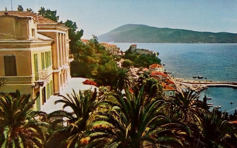 L'Hotel Boka in una cartolina postale del 1968