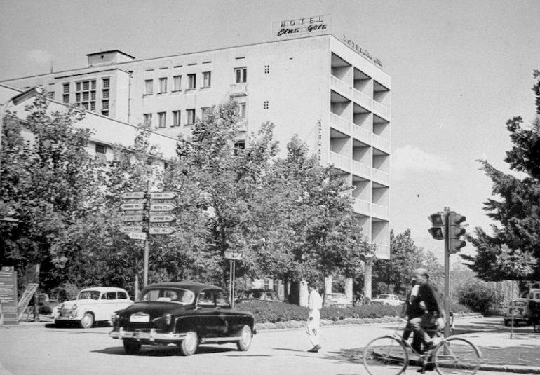 L'Hotel Crna Gora a Podgorica, ex Titograd