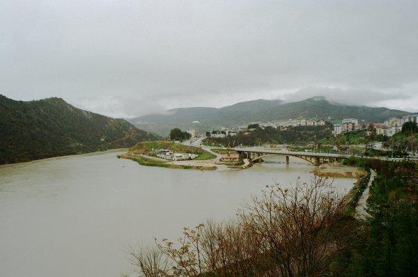 Il fiume Munzur a Tunceli - foto di Francesco Brusa