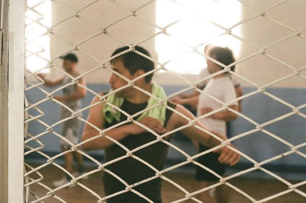 Il laboratorio teatrale nel carcere di Rezina - foto d Francesco Brusa