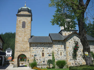 Il monastero di San Nikola (Foto Anna Brusarosco)