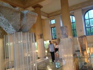 Il Museo nazionale nel giorno della riapertura (Foto A. Rossini)