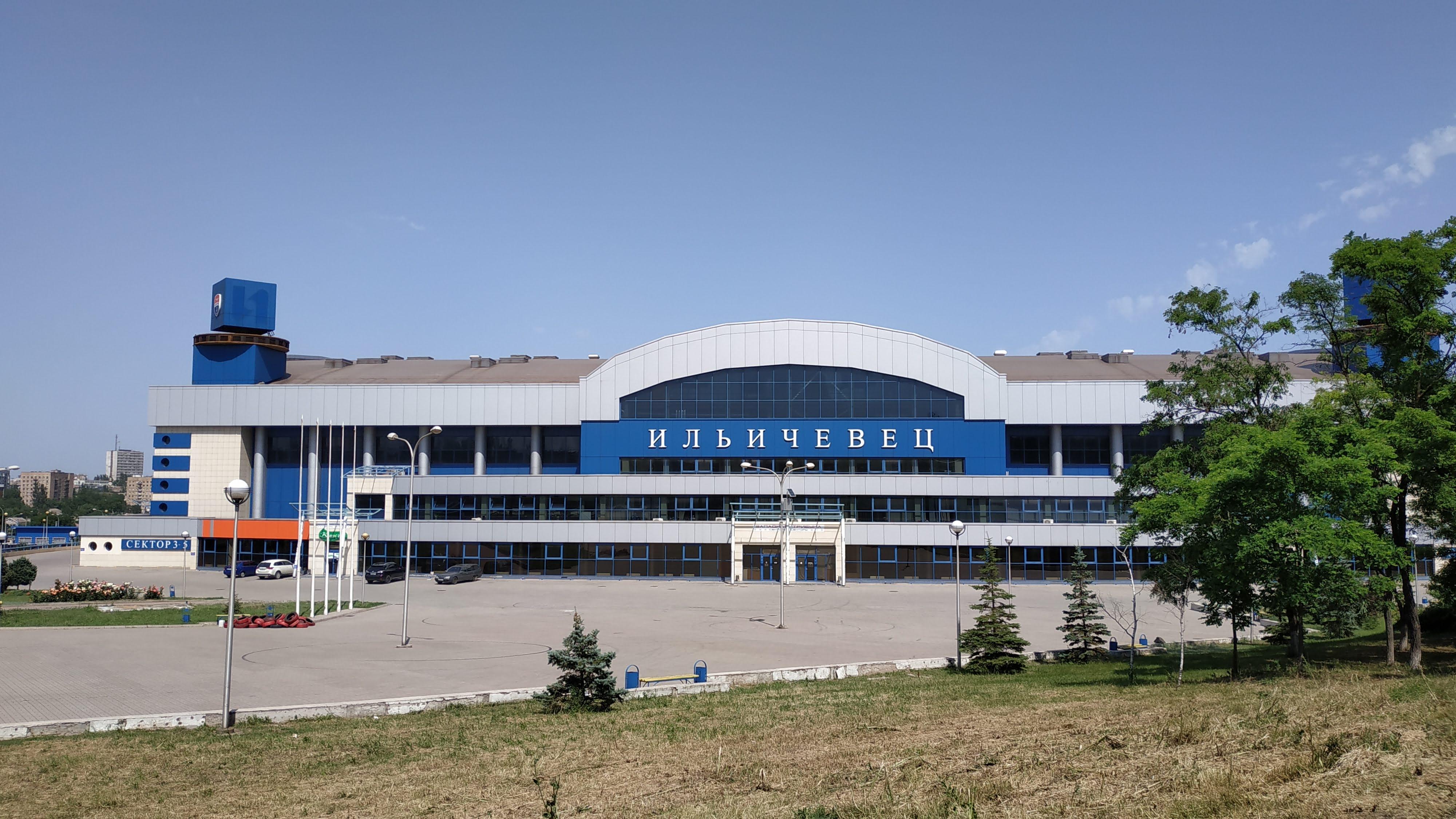 L'impianto sportivo Illičivets - foto di Claudia Bettiol