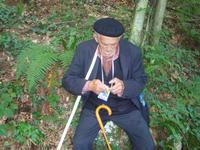 Il partecipante più anziano (foto Mario Fiorin)