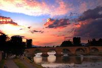 Il ponte di pietra sul Vardar (Foto Darko Hristov, Flickr)