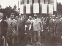 Il presidente Tito all'inaugurazione del Memoriale di Kozara