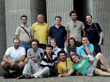 Il gruppo di insegnanti sul Monte Kozara - foto di Simone Malavolti