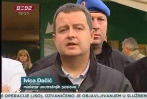 Ivica Dačić, ministro dell'Interno