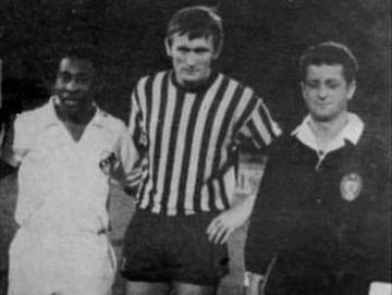 Ivica Osim con Pelé