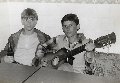 Ivo da giovane - Archivio personale di Ivo Atlija e Frano Piplović