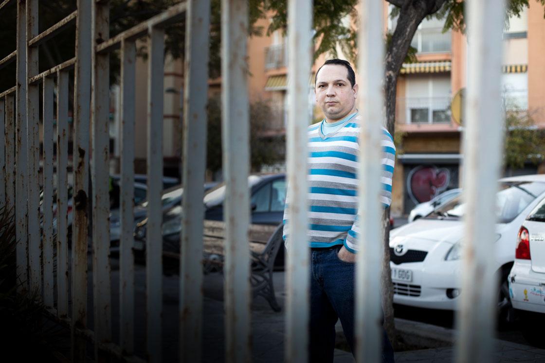 Jorge Daniel Castilla, standing in Tarragona