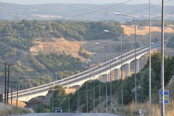 La moderna Via Egnatia nel tratto dell'Epiro
