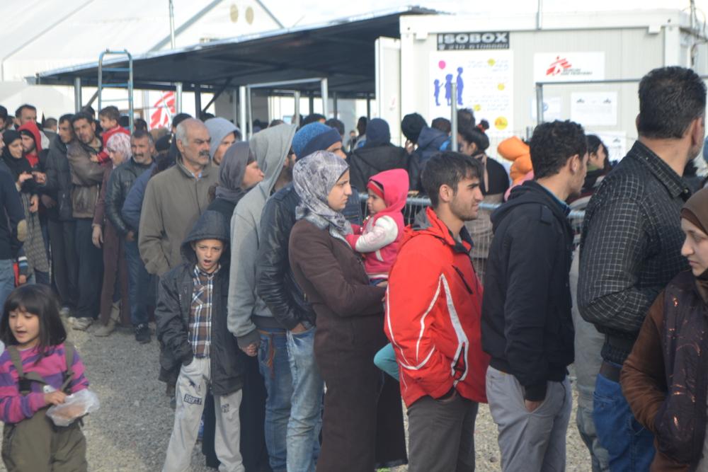 Migranti lungo la rotta balcanica